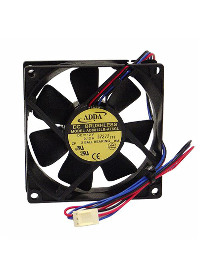 80mm Dual Ball-Bearing Fan
