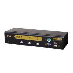 Bridgeview KVM BR-F1031DA Combo Free 3 Port DVI w/Audio